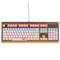 新贵 GM600香槟金 双色键帽 104键悬浮式炫光机械键盘 青轴版 白色产品图片2