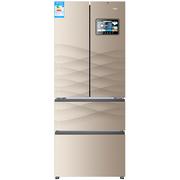 海尔 BCD-401WDEJU1 401升风冷无霜多门冰箱 新鲜管家 购物追剧 学做菜 (智能APP手机控制)