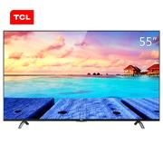 TCL D55A730U 55英寸 真4K护眼高色域 安卓智能LED液晶电视机(黑色)