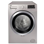 倍科 WMY 81441 PTLS 8公斤 变频滚筒洗衣机 毛发去除 羊毛洗 原装进口(银色)