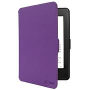 沐阳 Kindle电子书保护套899版和958版 Paperwhite 3/2/1十字纹休眠MY-KP01紫色(附赠高清贴膜)