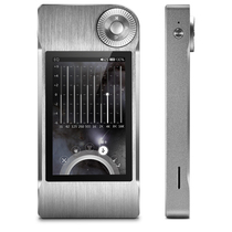 山灵 M5 便携式 发烧无损HiFi DAC耳放MP3 DSD解码 播放器  灰色产品图片主图