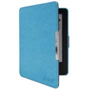 沐阳 New Kindle电子书保护套499版疯马纹休眠MY-NT02带手持 天蓝色(附赠高清贴膜)