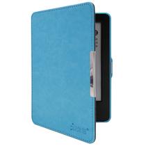 沐阳 New Kindle电子书保护套499版疯马纹休眠MY-NT02带手持 天蓝色(附赠高清贴膜)产品图片主图