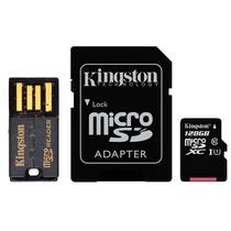 金士顿 128GB 80MB/s TF(Micro SD)Class10 UHS-I高速存储卡 移动套件产品图片主图