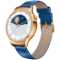 华为 WATCH 星月系列 智能手表 (施华洛世奇人造宝石 蓝色鳄鱼纹牛皮表带) 玫瑰金产品图片3