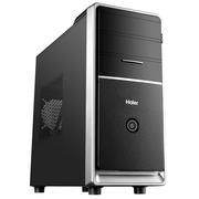 海尔 天越Y3 台式主机(Intel四核J3160 4G 500G 键鼠 WIFI Win10 )办公电脑