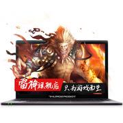 雷神  G150S金猴版15.6英寸88必发娱乐笔记本电脑(I5-6300 4G 500G GTX950M 2G独显 Win10)香槟金