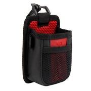 趣行 汽车用多功能手机袋 车载出风口置物收纳储物挂袋 红黑色