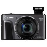 佳能 PowerShot SX720 HS  数码相机(2030万像素 40倍光变 24mm超广角)黑色