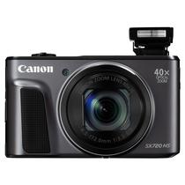 佳能 PowerShot SX720 HS  数码相机(2030万像素 40倍光变 24mm超广角)黑色产品图片主图