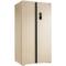 美菱 BCD-650WPCX 650升大容积 变频保鲜 风冷无霜 隐形门把手 金色对开门冰箱产品图片2