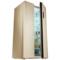 美菱 BCD-650WPCX 650升大容积 变频保鲜 风冷无霜 隐形门把手 金色对开门冰箱产品图片3
