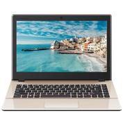 海尔 锋睿S300 13.3英寸笔记本电脑(intel 四核 4G 128G SSD WIFI 蓝牙 Win10)香槟金