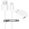Snowkids 苹果MFi认证数据线旅充套装 (1A单USB口充电器+1.2米线)白色 适用于iPhone6S/6SP/6P/6/5S/5C/5产品图片1