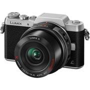 松下 Lumix DMC-GF8 微型单电单镜套机 银色 电动变焦版 美颜自拍利器(14-42mm DMC-GF8XGK-S)