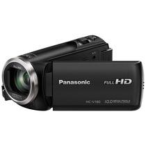 松下  HC-V180GK-K 数码摄像机 黑色(5轴防抖 水平纠正功能 28mm大广角录制 90倍智能变焦)产品图片主图