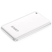 忆捷 S650 256G 1.8寸 USB3.0 轻巧便携式移动固态硬盘白色
