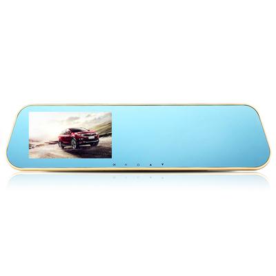 硕基 M760A 后视镜行车记录仪高清双镜头 1080P广角夜视产品图片2