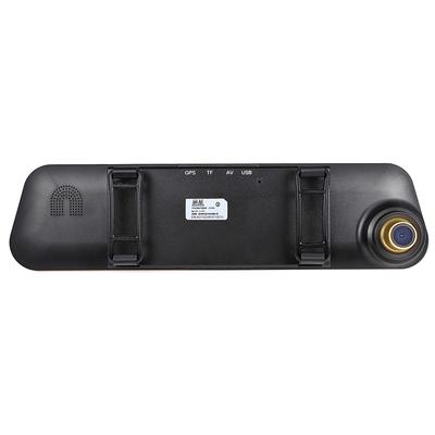硕基 M760A 后视镜行车记录仪高清双镜头 1080P广角夜视产品图片3