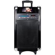 先科 A3 户外广场舞音响 带显示屏DVD便携移动电瓶拉杆音箱视频机