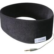 SleepPhones 经典有线款SC5BM 睡眠耳机 有效阻隔杂音 柔软的头带和嵌入式设计 可当音乐眼罩使用 黑色