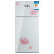 威力  BCD-108GH 彩晶玻璃门 108升 双门冰箱