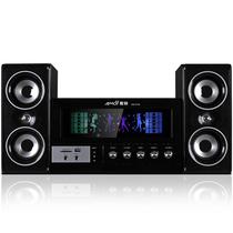 夏新 SM-6700 台式机多媒体蓝牙音箱 2.1电脑音响低音炮有源笔记本电脑音箱 (黑色)产品图片主图