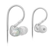 迷籁 耳挂式运动耳机 生活防水 音乐版粉 透明