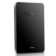 纽曼 星云 750G 液压平衡滚轴系统 防震 安全 稳定 快速 2.5寸 USB3.0 纤薄 移动硬盘 星空黑