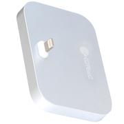 哥特斯 iPhone充电底座 充电器 手机支架 适用于苹果 iPhone se/5/5c/5s/6s/6plus Base 8 银色