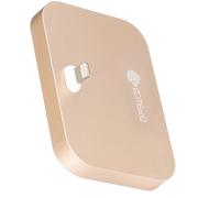 哥特斯 iPhone充电底座 充电器 手机支架 适用于苹果 iPhone se/5/5c/5s/6s/6plus Base 8 金色