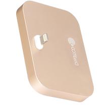 哥特斯 iPhone充电底座 充电器 手机支架 适用于苹果 iPhone se/5/5c/5s/6s/6plus Base 8 金色产品图片主图