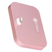 哥特斯 iPhone充电底座 充电器 手机支架 适用于苹果 iPhone se/5/5c/5s/6s/6plus Base 8 玫瑰金
