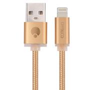 哥特斯 M10 Lightning数据线 手机充电线 2米 金色 适用于苹果iPhone5/6s/Plus iPad Air Pro M