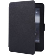 沐阳 New Kindle电子书保护套499版十字纹休眠MY-NT03黑色(附赠高清贴膜)
