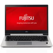 富士通 U745 14英寸超薄商务笔记本电脑(i7-5600U 8G 256G SSD 铝合金 掌纹识别 12小时续航)银色