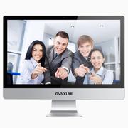 技讯(GVNXUHI) JXR3001 23.6英寸办公娱乐一体机电脑(酷睿双核i3-2350M 集显 4G内存 120GSSD 键鼠 win10)银白色