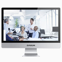 技讯(GVNXUHI) JXF7004 27英寸办公娱乐一体机电脑(酷睿双核i5-2520M 集显 8G内存 1T 键鼠 win10)银白色产品图片主图