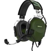 宾果 GX9000 黑鹰巡航者 源自军用直升机 耳麦头戴式 7.1声效震动游戏耳机 (陆战绿)