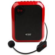 不见不散 T200(无线版) 小蜜蜂扩音器教师专用无线教学导游腰挂大功率 玫瑰红