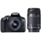 佳能 EOS 1300D(EF-S 18-55mm f/3.5-5.6 IS II&EF-S 55-250mm f/4-5.6 IS II) 单反双镜头套机产品图片1