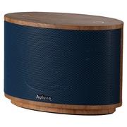 欧乐司 AW1010 Wood 木质无线蓝牙立体声音箱 高端触控式多媒体低音炮音响 蓝色