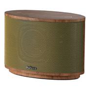 欧乐司 AW1010 Wood木质触控无线蓝牙音箱 书架音箱 HIFI 黄色
