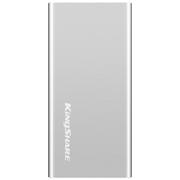 金胜 S7系列 240G USB3.0 MINI固态移动硬盘 银色 (KSM7240S)