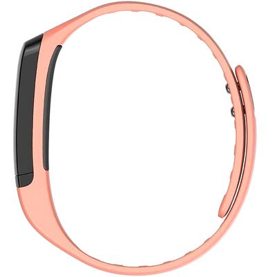 全程通 QCT-W2 智能手环 智能腕带 计步器 来电提醒 微信提示 触控屏幕 运动健康手环 粉色产品图片2