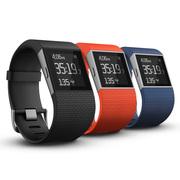 Fitbit Surge 智能乐活手环 GPS全球定位 心率实时检测 多项运动模式 智能手表 橘红色L