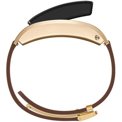 华为 手环B3   (蓝牙耳机与智能手环结合+金属机身+触控屏幕+真皮腕带) 商务版 摩卡棕产品图片5