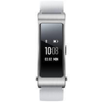 华为 手环B3  (蓝牙耳机与智能手环结合+金属机身+触控屏幕+TPU腕带) 运动版 悦动白产品图片主图