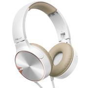 先锋 SE-MJ722T -T 重低音头戴式便携折叠手机通话耳机 金色
